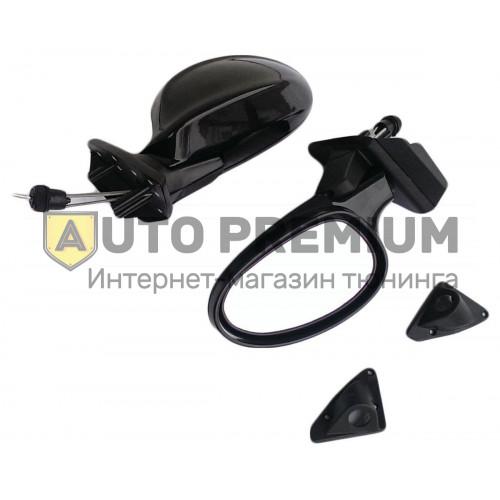 Боковые зеркала «3301» черные на ВАЗ 2108-15